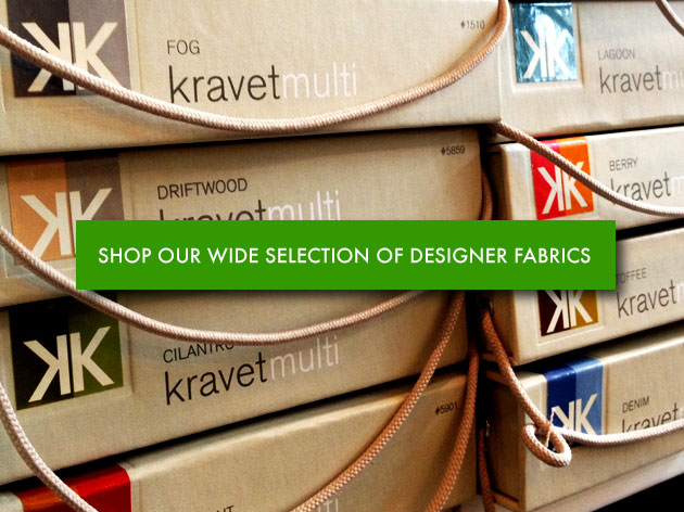 Learn about our wide selection of designer fabrics